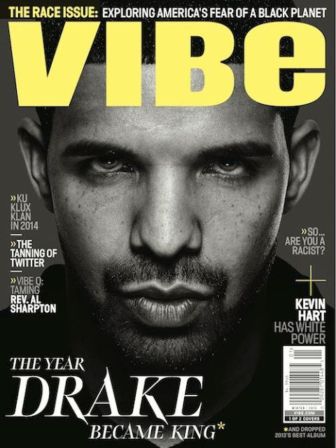 Drake Vibe magazine
