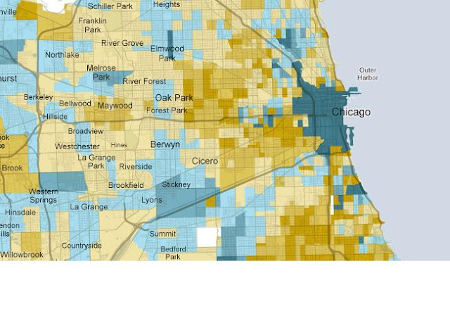 Chicago Urbanist Demographic Changes