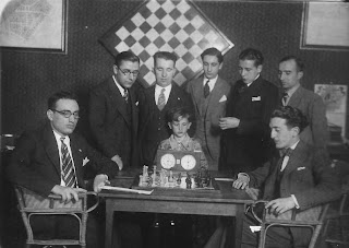 Partida de ajedrez Claret-Vilajosana en 1930