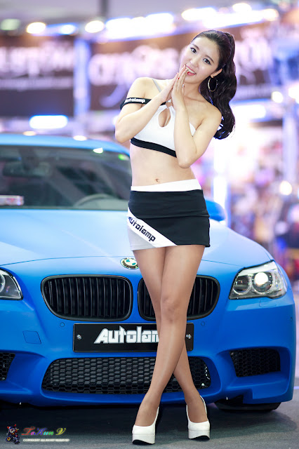 6 Yoon Joo Ha - Seoul Auto Salon 2012-Very cute asian girl - girlcute4u.blogspot.com