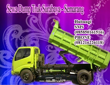 Sewa | Rental Dump Truk Surabaya ke Semarang