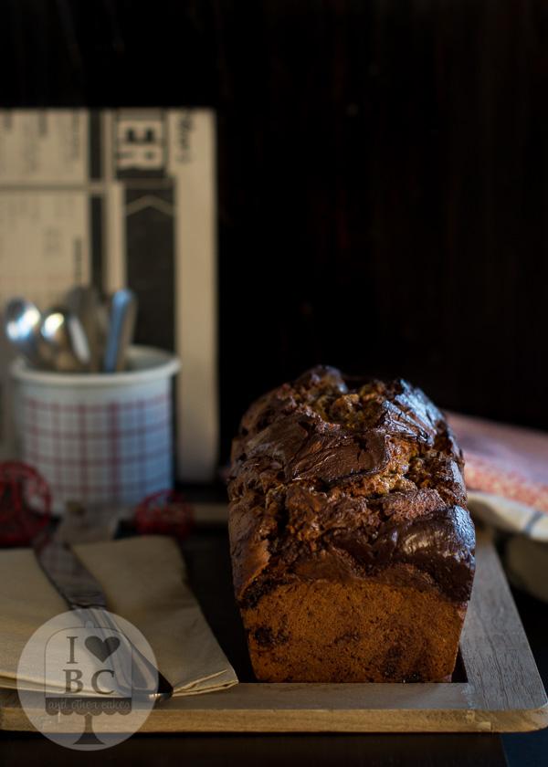 Cake de calabaza y nutella