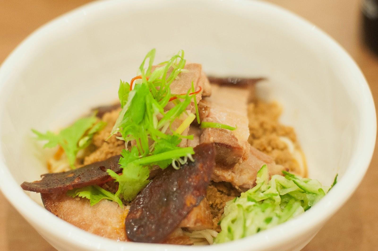 GRUB Noodle Bar Pork Noodles