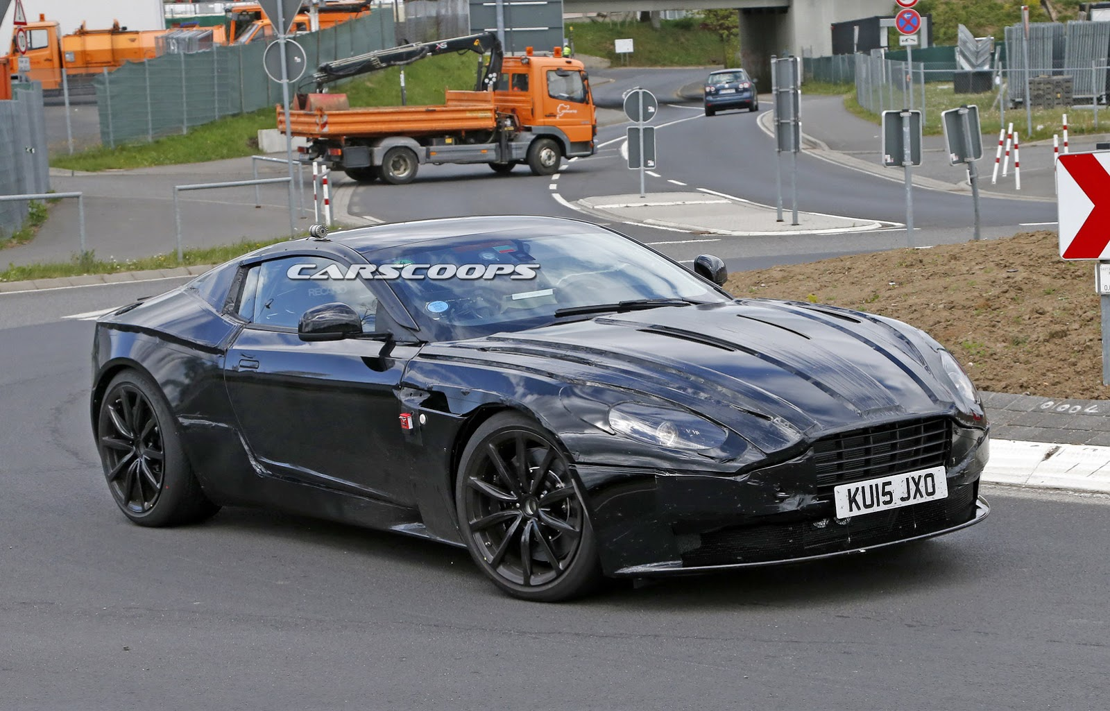 Aston Martin DB11 Tipped To Get 8 Speed Auto And Over 565 Hp