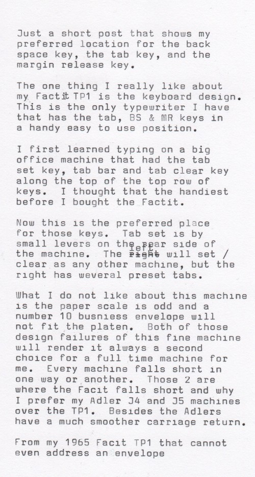 Fountain Pens Typewriters Favorite Typewriter Function Keys Location