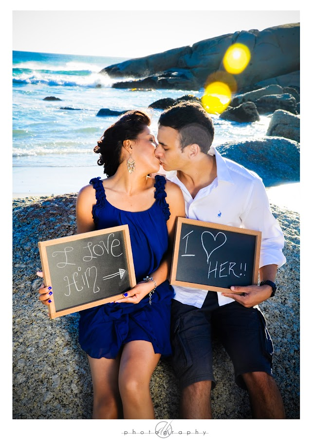 DK Photography Niq7 Niquita & Lance's Engagement Shoot on Llandudno Beach  Cape Town Wedding photographer