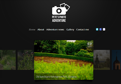 Petes photo adventure website