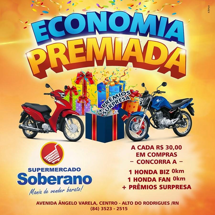 Show de Prêmios no Supermercado Soberano