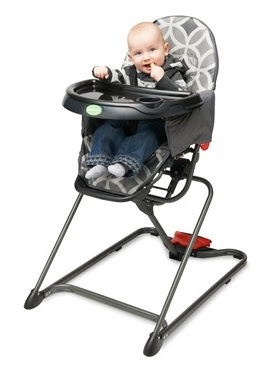 QuickSmart Easy Fold High Chair