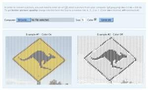 Panduan convert gambar kepada text ASCII