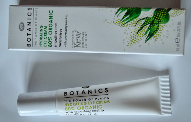 Boots Botanics Organics 80% Hydrating Eye Cream - Beauty by Eff