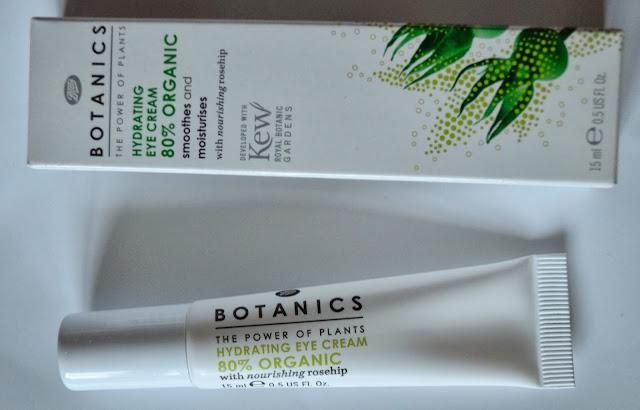 Boots Botanics Organics 80% Hydrating Eye Cream - Beauty by Eff