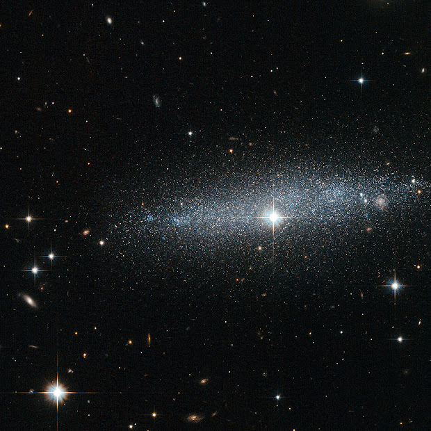 Edge-on Irregular Galaxy ESO 318-13