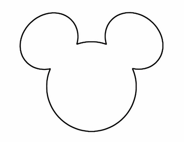 Frugal but fabulous family disney vacations for Mickey mouse head shape template