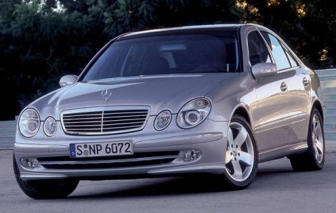 The Mercedes-Benz E-Class 200