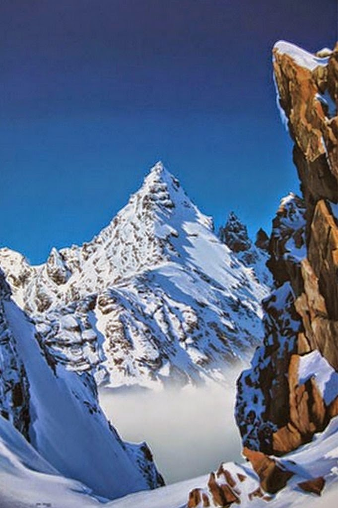 cuadros-de-paisajes-naturales-con-nieve