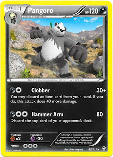 Pangoro Furious Fists Pokemon Card