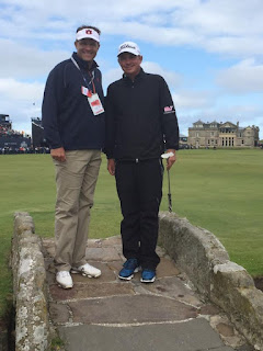Gus Malzahn is in Scotland rooting Jason Dufner on at The Open.