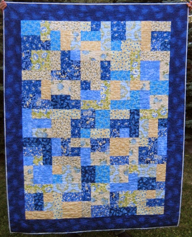 Inch by Inch Quilting: Two Yellow Brick Road quilts by Judy
