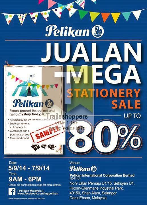 Pelikan Malaysia Stationery Mega Sale