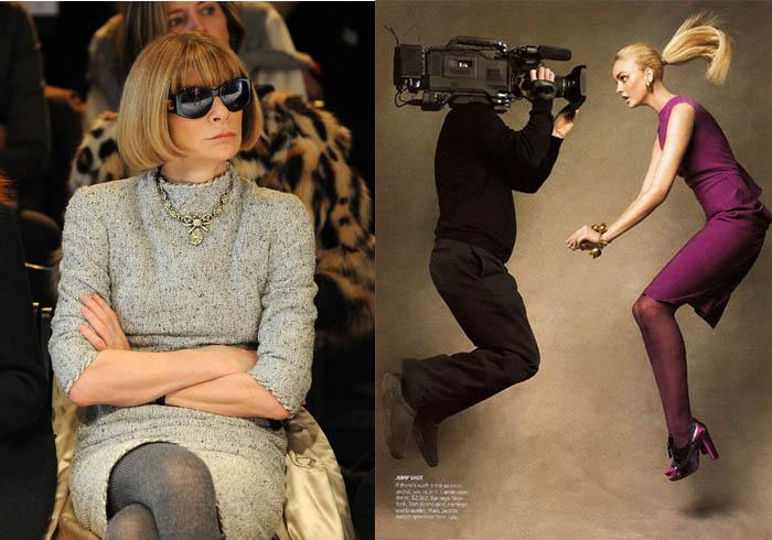 FASHION DOC - THE SEPTEMBER ISSUE_Anna Wintour_filme de moda_documentário de moda_mundo da moda_por detrás da revista Vogue_Carol Trentini_ensaio com câmera barrigudo_correção de photoshop