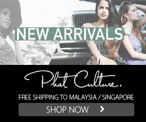 PhatCulture.com- Malaysia Online Fashion Boutique- Tops, Dresses, Party, Corporate