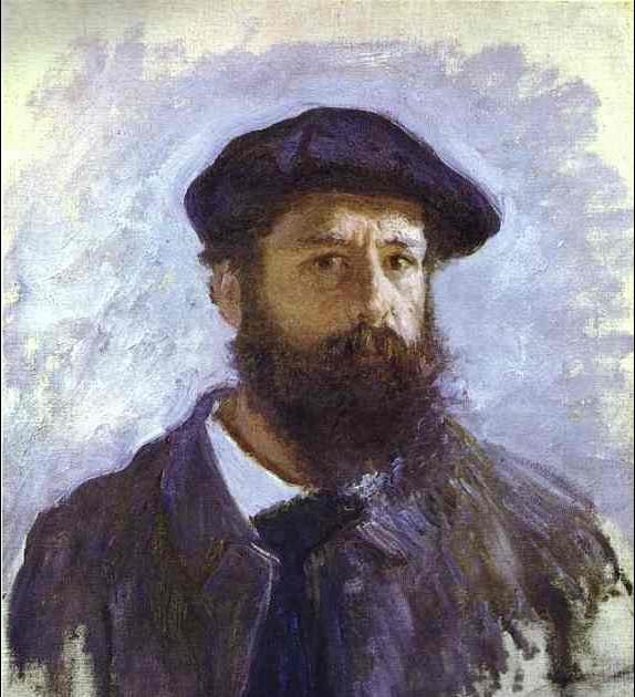 Self-portrait Print by Claude Monet