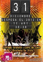 Si voleu celebrar amb nosaltres l'entrada del 2012 farem una festa al TEART