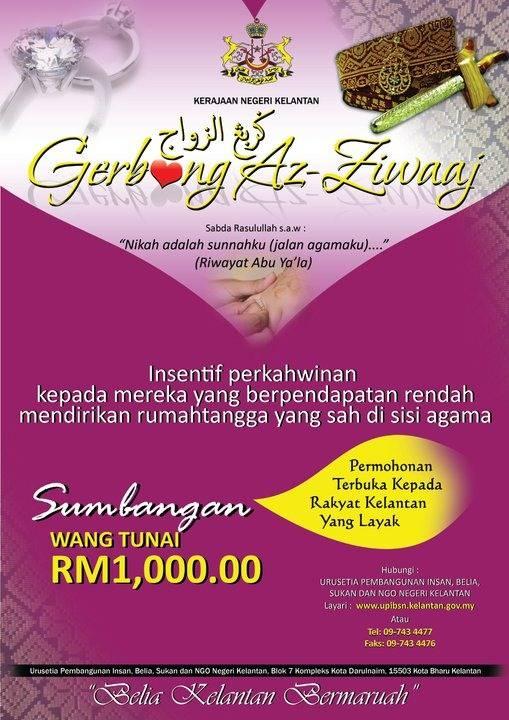 Rasnadiya Skim Bantuan Perkahwinan Di Kelantan