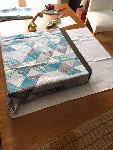 HOUSSE POUR COUSSIN DE SOL carré : tuto en photos | cmoikikou