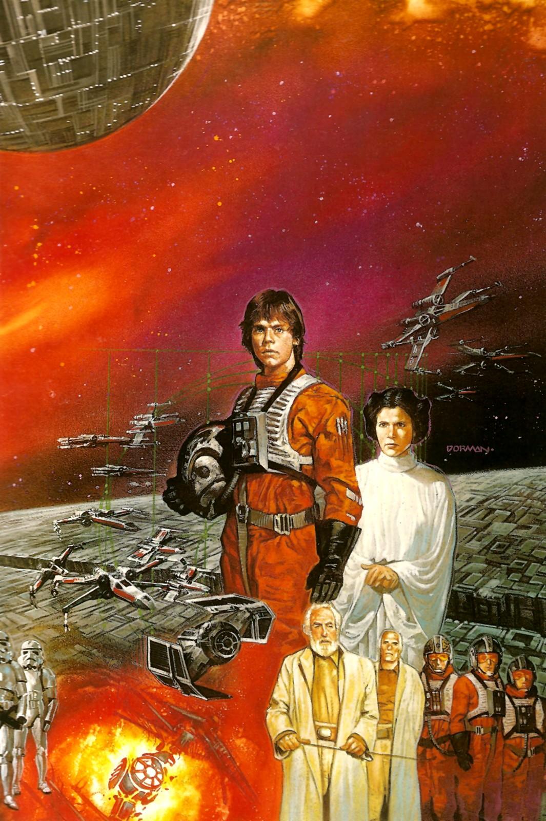 amazing cosmic powers star wars the art of dave dorman
