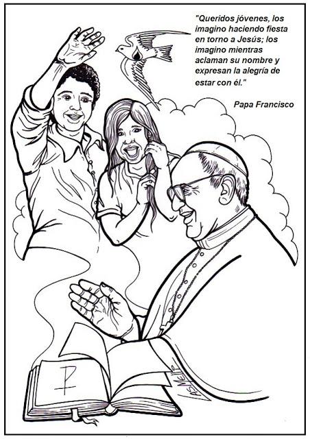 Worksheet. EDUCACIN RELIGIOSA Dibujos para colorear PAPA FRANCISCO