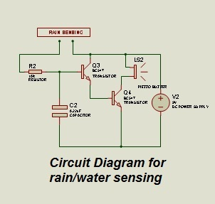 ELECTRONIC ENTHUSIASTS: Water Level Indicator/Rain Sensor on door alarm schematic, audio amplifier schematic, metal detector schematic, pressure tank installation schematic, washing machine schematic, water filter schematic, water system monitoring wells, cable tester schematic, water wheel schematic, control schematic, water system schematic, digital voltmeter schematic, current sense switch schematic,