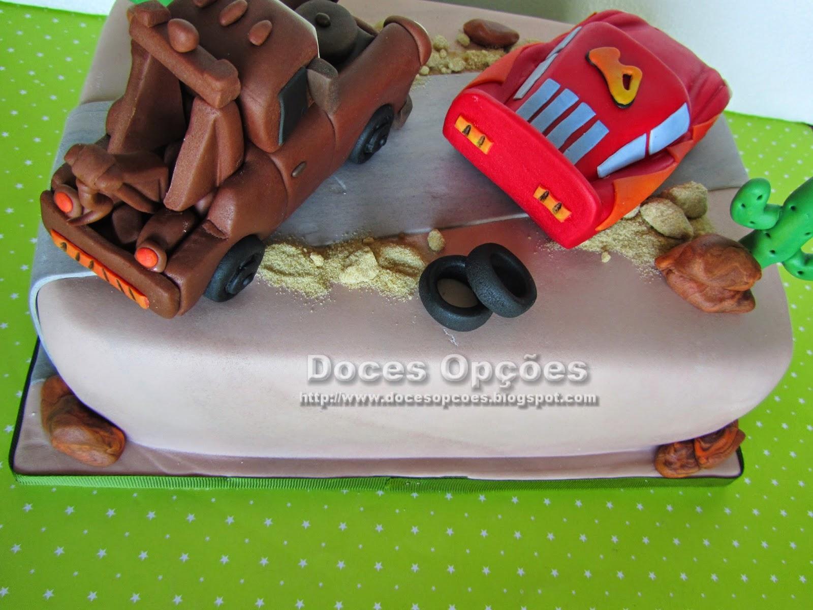 bolo aniversário menino carros