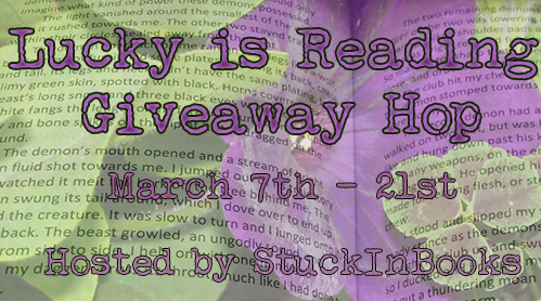 Lucky Is Reading Giveaway HOP