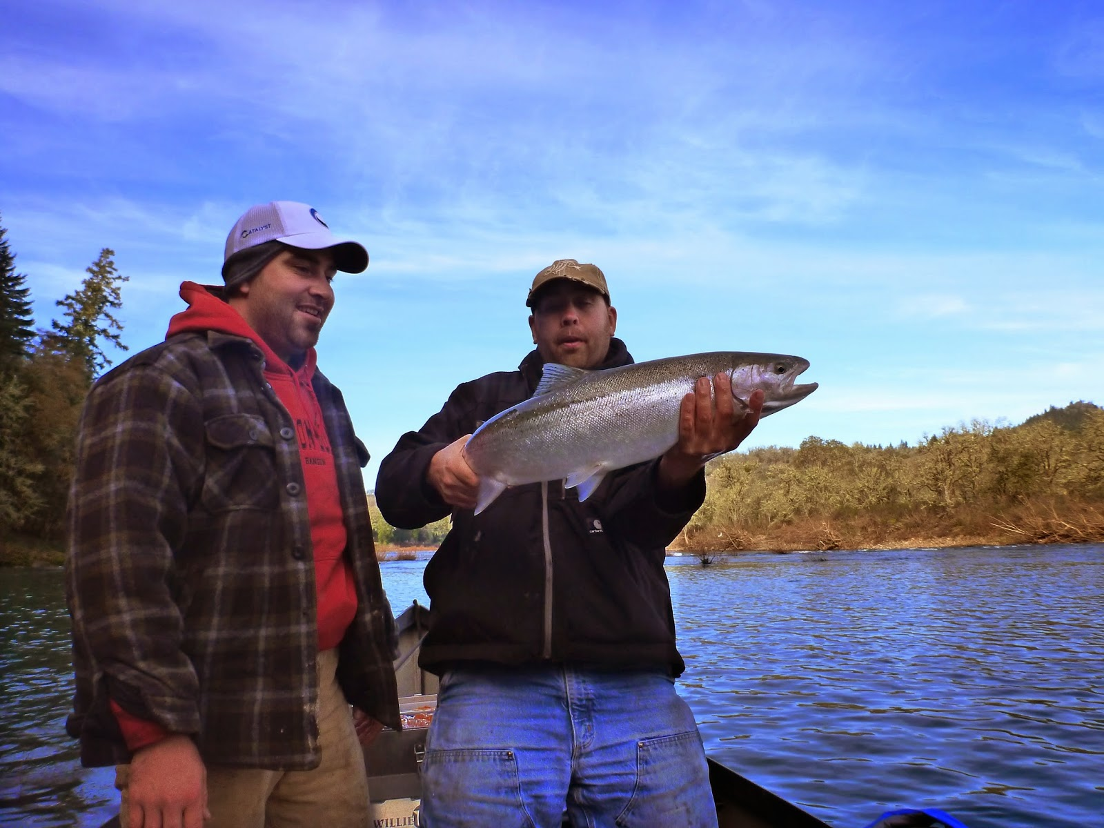 Umpqua River Steelhead Fishing.