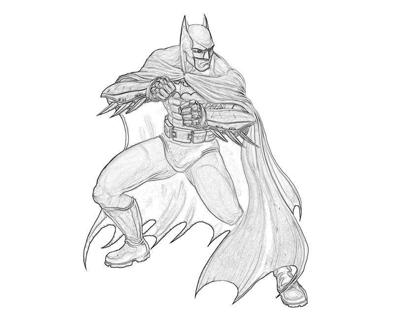 printable batman arkham city batman abilities_coloring pages