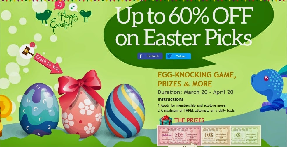 Easter Promotion on JollyChic