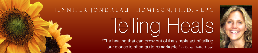 TELLING HEALS