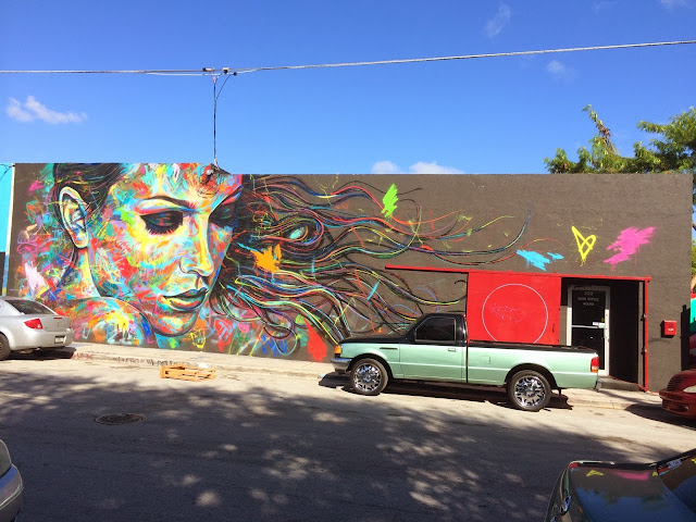 New Street Art By British Urban Artist David Walker In Miami For Art Basel 2013. 2
