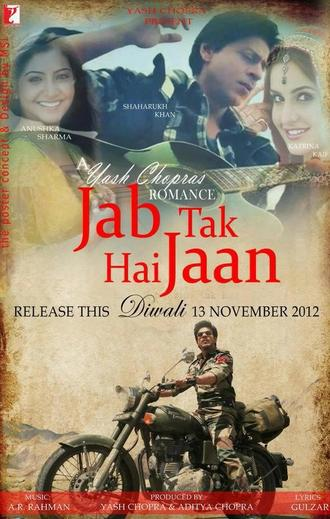 Jab Tak Hai Jaan (2012) Movie Poster