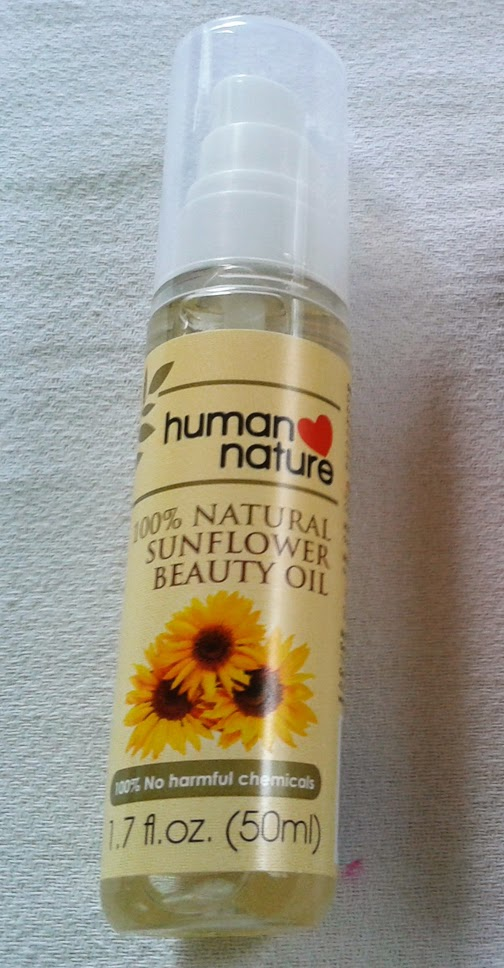 Human Nature Sunflower Oil Underarm Review
