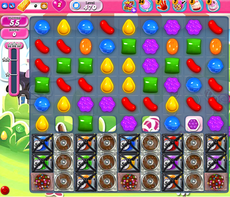 Candy Crush Saga 470