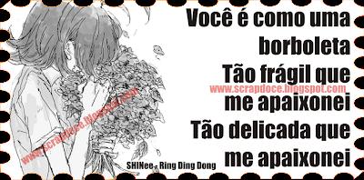 Mensagem de Amor para Facebook e Orkut - Frases de Musicas de Kpop