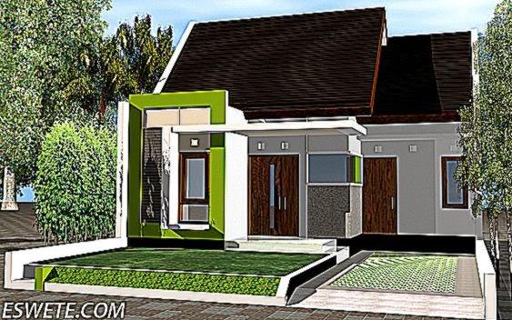 Bentuk Rumah Minimalis Modern Tipe 36 Tampak Depan Terbaru   Eswete