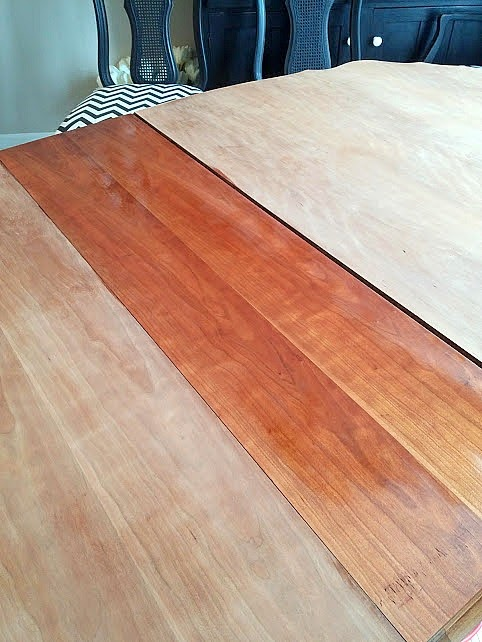 wood conditioner prestain. Refinishing a Dining Table   DIY beautify
