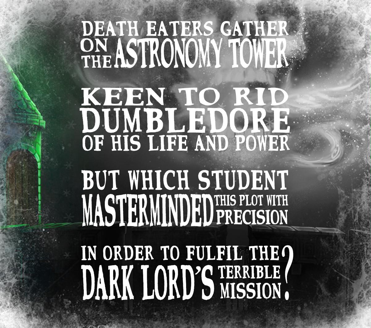 XI° regalo. La risposta è: Draco Malfoy