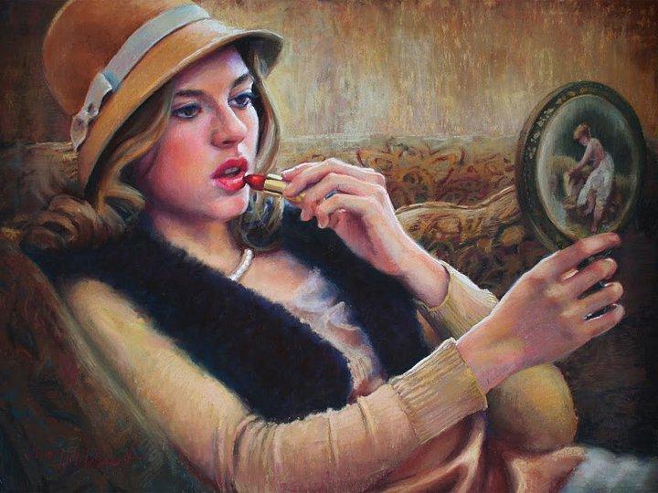 Jean Hildebrant - American Figurative painter