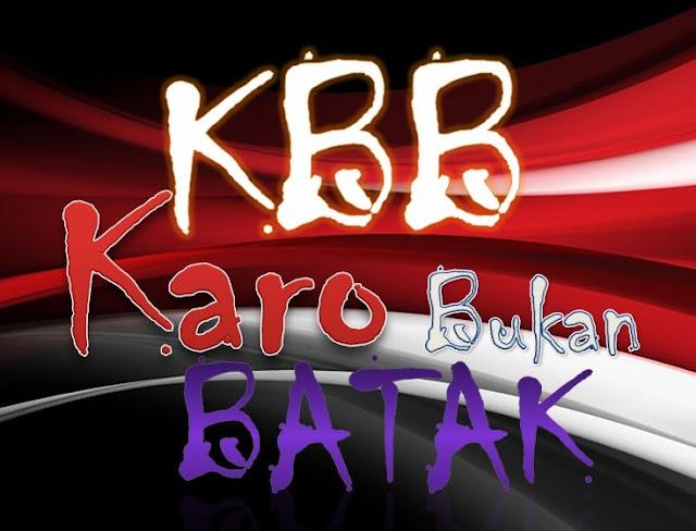 KBB (Karo Bukan Batak)
