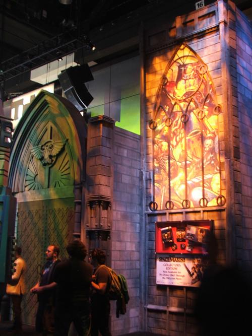 Warhammer 40K en el E3 E3+2011+Imperial+Chapel